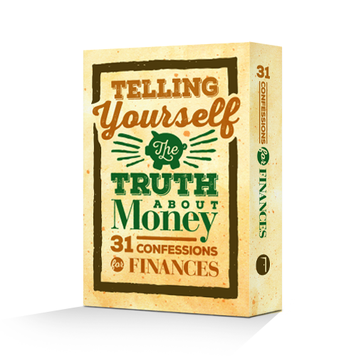 Telling Yourself the Truth About Money (Scripture Card Set)