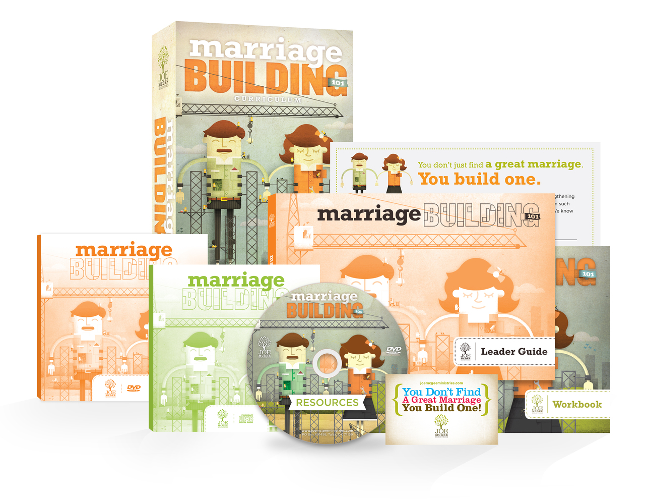 Marriage Building 101 - Small Group Class Kit